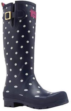 Joules Women's Wellyprint Tall Rain Boot