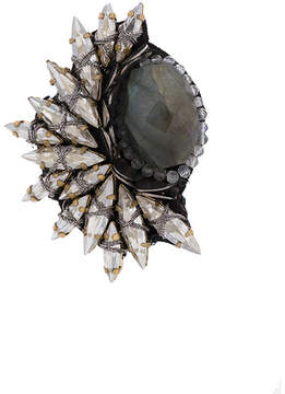 Deepa Gurnani embellished stud earring