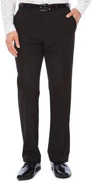 Jf J.Ferrar Men's JF Stretch Gabardine Flat-Front Straight-Leg Slim Fit Suit Pants