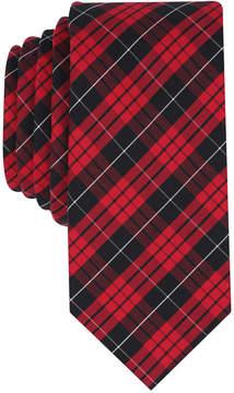 Bar III Men's MacLeod Dress Plaid Skinny Tie, Created for Macy's