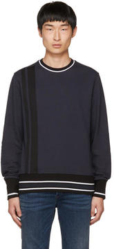 Diesel Black Gold Navy Tape Sweatshirt