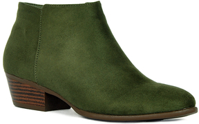 Refresh Olive Rider Ankle Boot