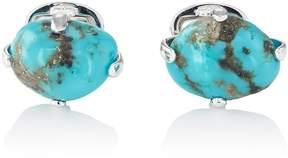 Jan Leslie Men's Turquoise Cufflinks