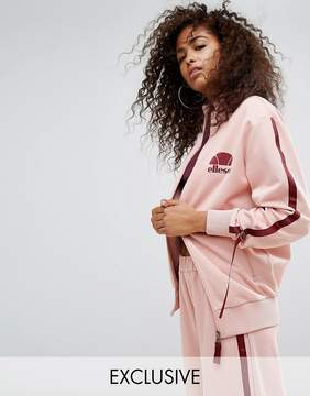 Ellesse Tracksuit Top With Side Pull Ties