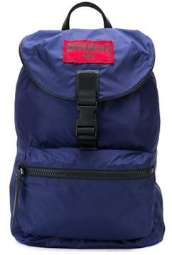 Givenchy Men's Blue Polyamide Backpack.