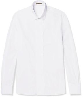 Bottega Veneta Cotton-Poplin Tuxedo Shirt