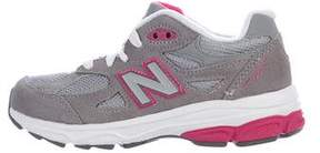 New Balance Girls' 990 Low-Top Sneakers