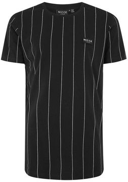 Nicce Black Stripe T-Shirt