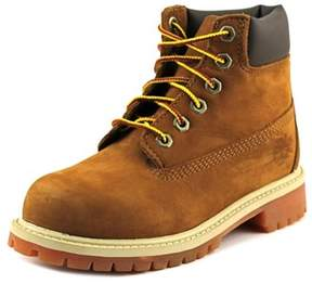 Timberland 6in Prem Round Toe Leather Boot.