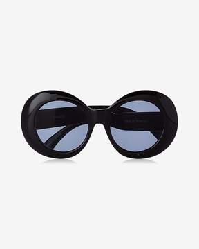 Express Black Asterix Sunglasses