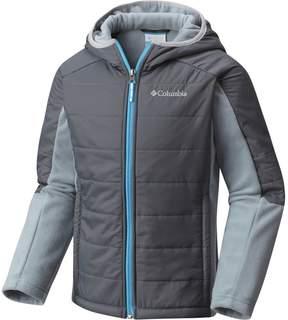 Columbia Fast Trek Hybrid Fleece Hooded Jacket