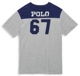 Ralph Lauren Toddler, Little Boy's and Big Boy's Polo 67 Cotton Tee