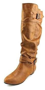 Material Girl Women's Cresta Knee-high Riding Boots.