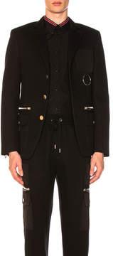 Givenchy Cargo Pocket Blazer