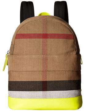 Burberry Nico Slim Check School Backpack Backpack Bags