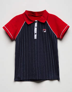 Fila Heritage Vintage Girls Polo Shirt