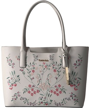Calvin Klein - Perforated Novelty Leather Tote Tote Handbags