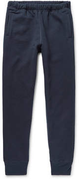 Engineered Garments Slim-Fit Tapered Fleece-Back Cotton-Jersey Sweatpants