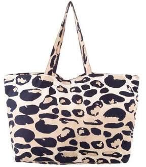 Diane von Furstenberg Leopard Print Tote