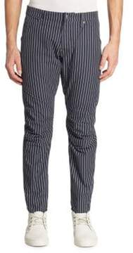 G Star 5622 Elwood 3D Taper Dot-Striped Pants