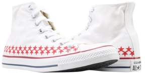 Converse Chuck Taylor All Star White/Blue/Red High Top Sneakers 151015F