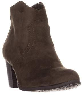 American Rag Ar35 Rylie Casual Low-heel Ankle Boots, Olive.