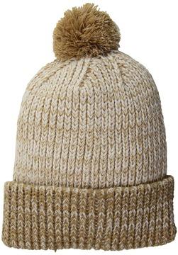 Scala Two-Tone Lurex Cuff Cap Caps