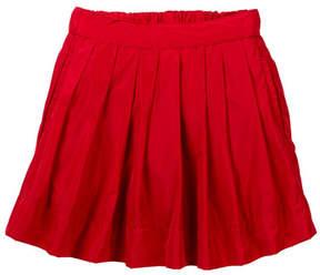Joe Fresh Pleated Taffeta Skirt (Toddler & Little Girls)