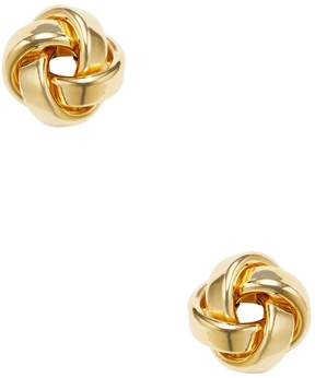 Candela Women's 14K Yellow Gold Love Knot Stud Earrings