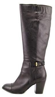 Giani Bernini Womens Ellee Leather Cap Toe Knee High Fashion Boots.