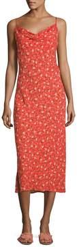 ABS by Allen Schwartz Women's Floral Print Slip Dress