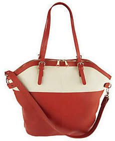As Is Kelsi Dagger Julie Colorblock Convertible Tote