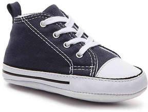 Converse Girls Chuck Taylor All Star First Star Infant Crib Shoe