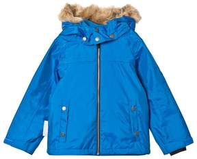 Ticket to Heaven Skydiver Blue Jacket Mack With Detachable Hood
