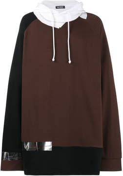 Raf Simons oversized hoodie with tape