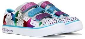 Skechers Kids' Stylin Stars Twinkle Toes Sneaker Pre/Grade School