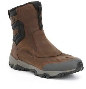 Merrell Men's Coldpack Ice 8 Zip Polar Suede Waterproof Cold Weather Boots