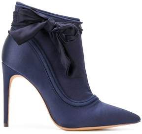 Alexandre Birman pointed bow boots