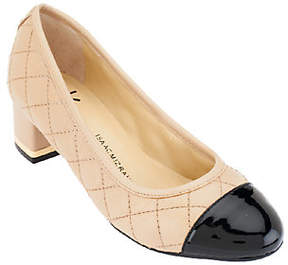 Isaac Mizrahi Live! Quilted Leather Pumps