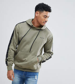Nicce London hoodie with side stripes exclusive to asos