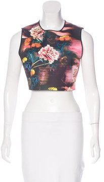 Clover Canyon Floral Print Crop Top w/ Tags