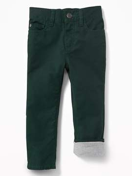 Old Navy Relaxed Twill-Lined 5-Pocket Pants for Toddler Boys