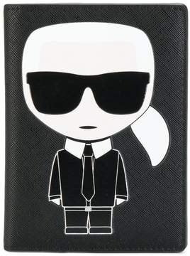 Karl Lagerfeld Ikonik passport holder