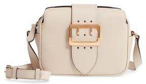 Burberry Small Buckle Leather Crossbody Bag - Grey - GREY - STYLE