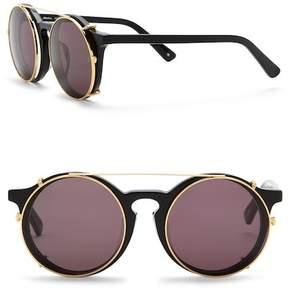 Cat Eye SUNDAY SOMEWHERE Matahari 50mm Round Sunglasses