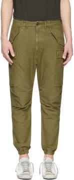 R 13 Green Surplus Military Cargo Pants