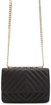 Forever 21 Quilted Chevron Crossbody