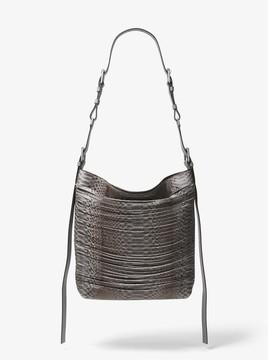 Michael Kors Naomi Extra-Large Leather Shoulder Bag - SLATE - STYLE