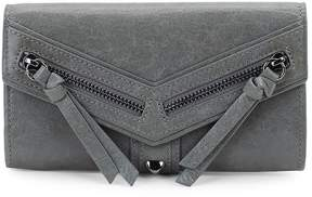 Botkier New York Women's Trigger Flap Leather Continental Wallet