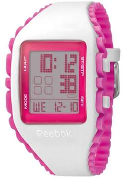 Reebok Workout Z1G Ladies Silicone Alarm, Chronograph Watch RF-WZ1-G9-PWIP-PP